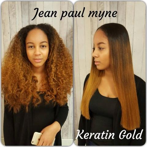 Keratin Gold
